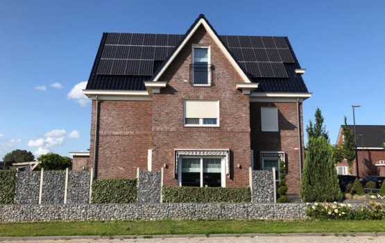 Trina Solar 300Wp All Black met SolarEdge omvormer en optimizers