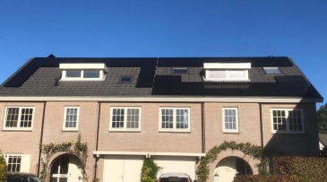 Hanwha Q-Cells 305Wp duo cell All Black met SolarEdge omvormer en optimizers