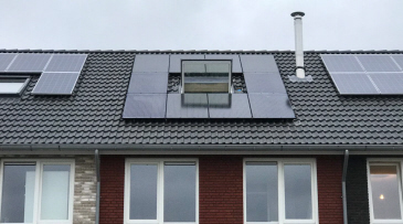 Trina 300wp met Solaredge