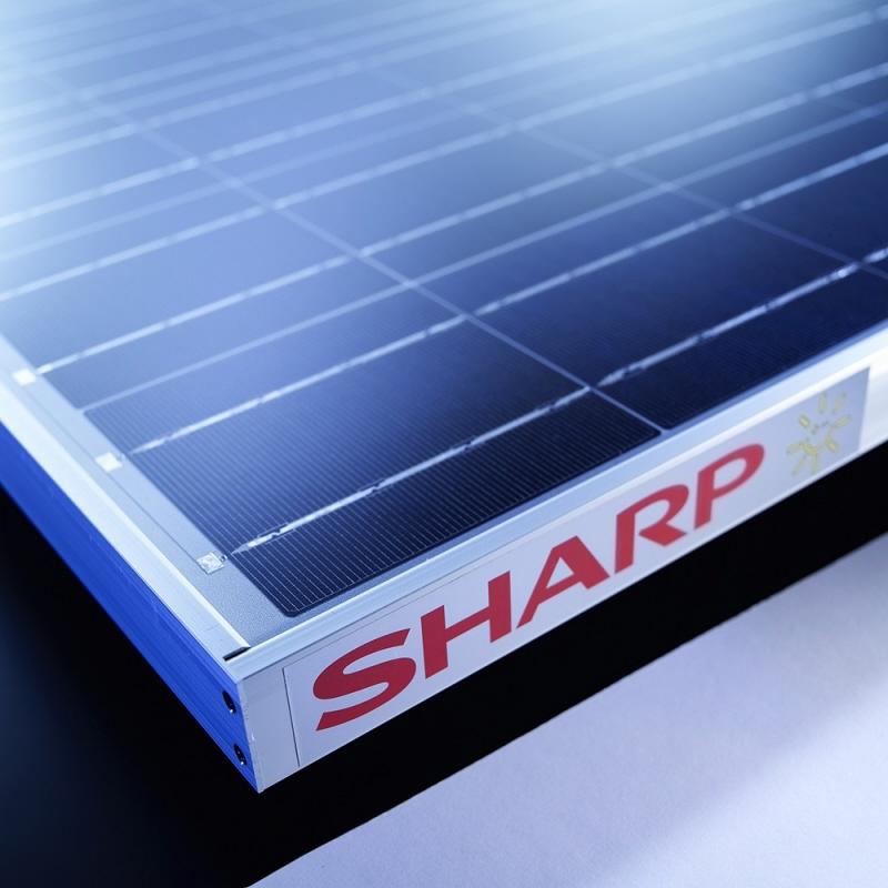 Sharp 270wp Polykristallijn Pv Paneel 35mm Zonnepanelen